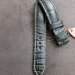 Straps Made from Grigio-Verde Alligator