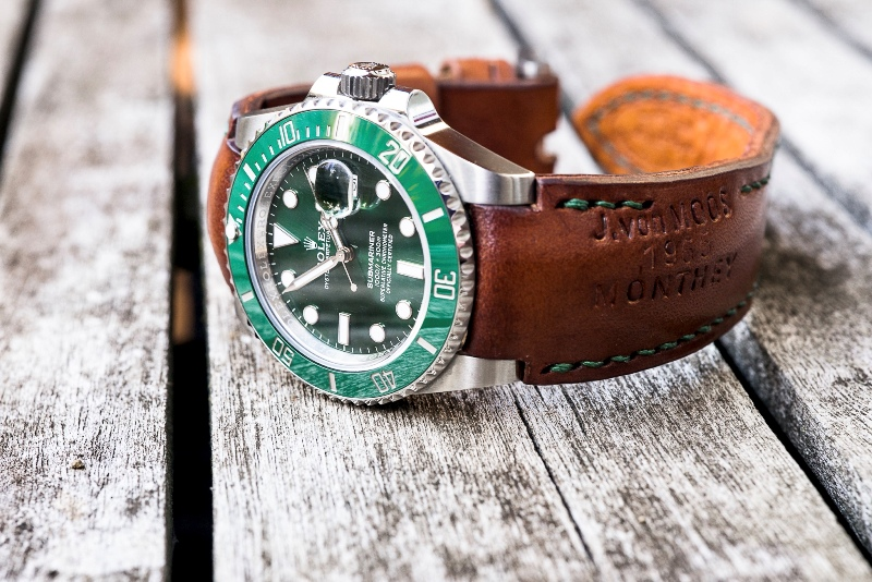 Swiss Ammo Strap for Rolex 'Hulk' Submariner