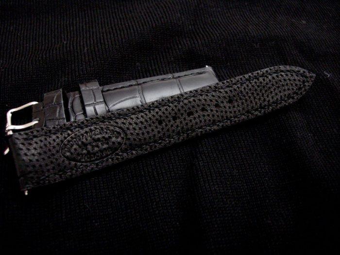 Million-Dollar-Black-Alligator-watch-strap-4