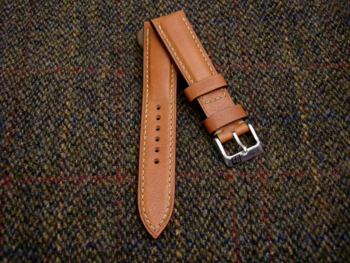 Incas-Tan-Kangaroo-watch-strap-for-20mm-lug-width