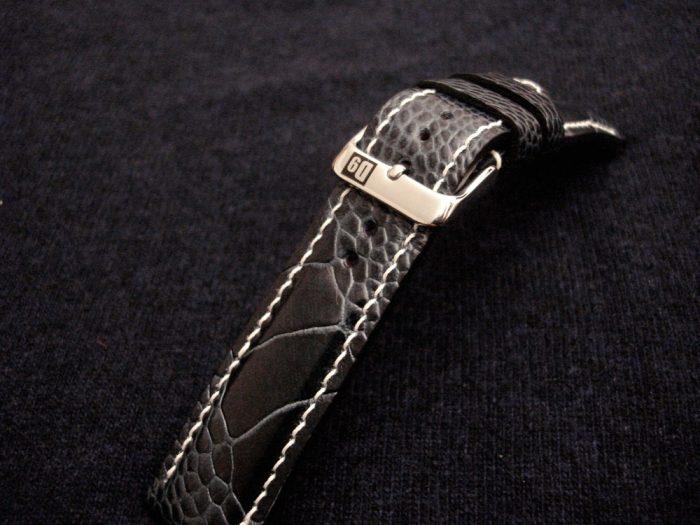 Monaco-Blue-watch-strap-Ostrich-Leg-skin-for-22mm-lug-width-3