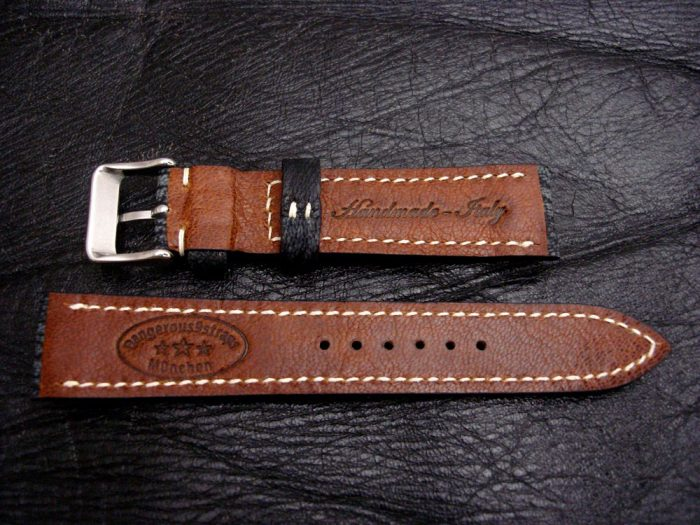 Dirty-Denim-watc-strap-Safari-Goat-Leather-Collection-20mm-lug-width-2