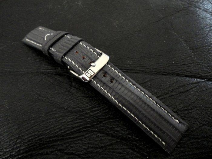 SuperMatte-Grey-Teju-Lizard-watch-strap-8