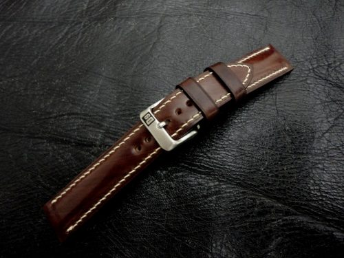 Espresso-Brown-Cordovan-Shell-watch-strap