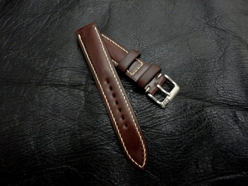 Espresso-Shell-Cordovan-watch-strap